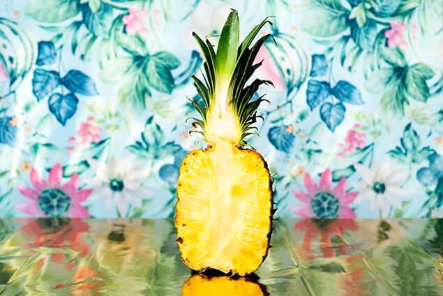 Halbe Ananas - gern als Teil vom Catering Service für Berlin