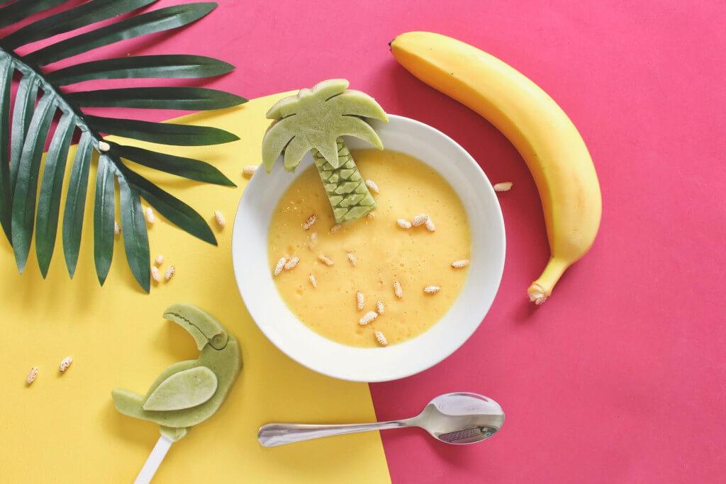 Suppe Schüssel Banane
